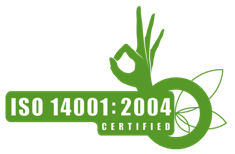 ISO 14001:2004 Certified